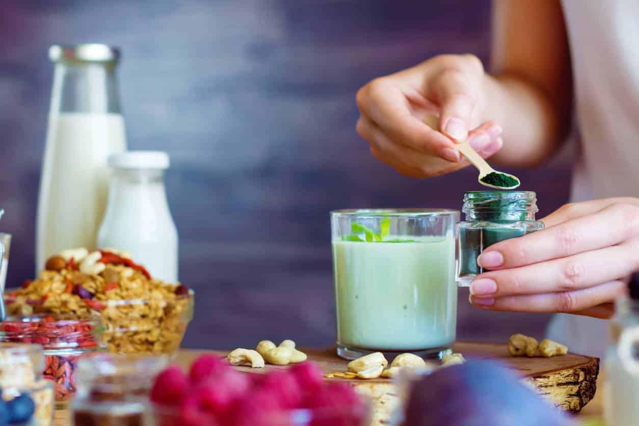 spiruline alimentation végétale